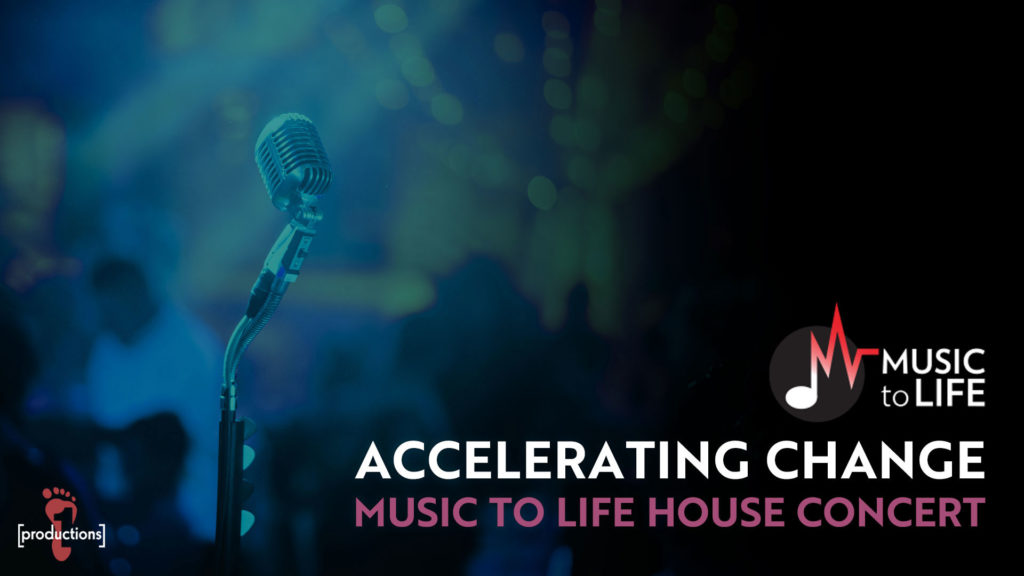 Accelerating Change: Music to Life House Concert