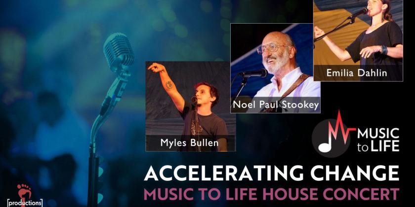 Accelerating Change House Concert: Sept. 13, 2020