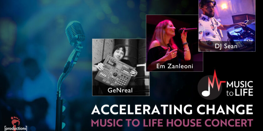 Accelerating Change House Concert: Oct. 25, 2020