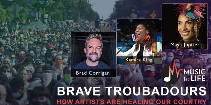 Brave Troubadours: March 18, 2021